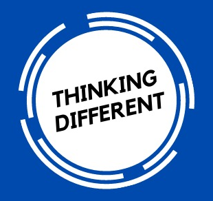 Thinking different logo