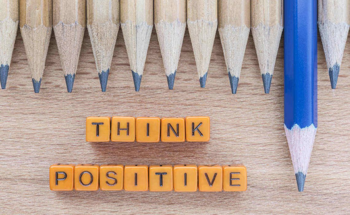 Think Positive motivational quotes